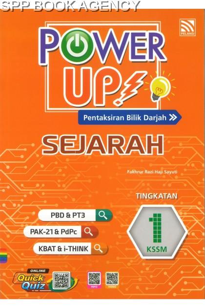 POWER UP SEJARAH TINGKATAN 1