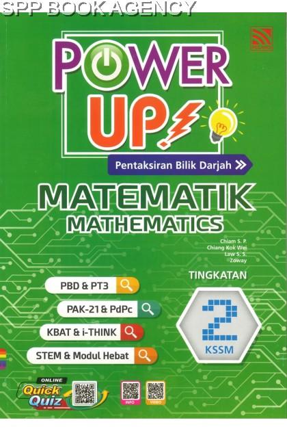 POWER UP MATEMATIK TINGKATAN 2