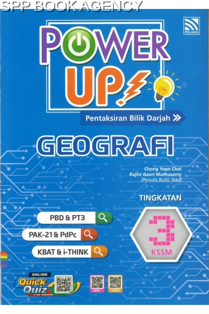 POWER UP GEOGRAFI TINGKATAN 3