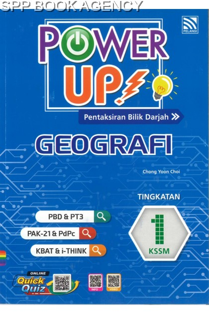 POWER UP GEOGRAFI TINGKATAN 1