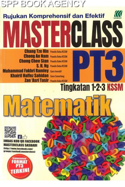 (SASBADI) MASTERCLASS PT3 MATEMATIK
