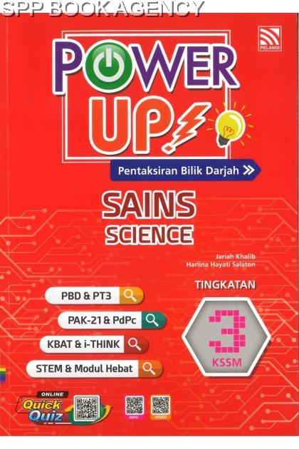 POWER UP SAINS TINGKATAN 3